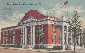 Virginia Winchester United States Post Office 1949