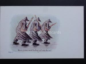 Cynicus: Political Theme THREE FISHERS WENT TRAILING..c1902 UB - Old Postcard