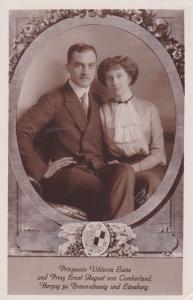 RP; Prinzessin Viktoria Luise und Prinz Ernst August con Cumberland