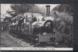 Railways Postcard - Steam Returns To Groudle Glen Railway, Isle of Man HP229
