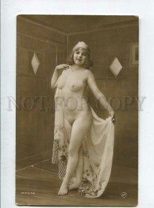 3135540 NUDE Woman Plump BELLE Vintage PHOTO JA #69 PC