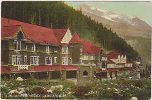 Glacier House (Side View), Glacier, British Columbia, Canada, 1900-1910s