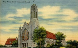 NE - Boys Town. Dowd Memorial Chapel