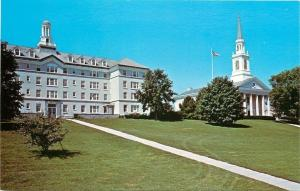 Middlebury Vermont~View Of Upper Campas Hepburn Hall Middlebury College~1950s PC