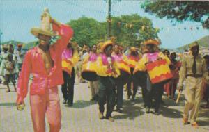 St Thomas Steel Band At Carnival Time