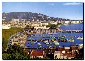 Modern Postcard Cannes General View from Le Suquet