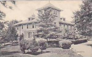 New York East View Adults Cottage No 3 Loeb Memorial Home for Convalescents H...