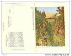 Tear-Off Hidden Message, Second Canyon Suspension Bridge, Vancouver, Canada, ...