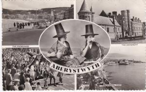 Post Card WALES Dyfed  ABERYSTWYTH