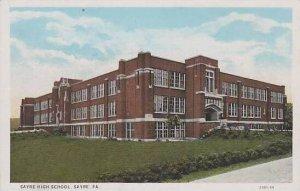 Pennsylvania Sayre Sayre High School