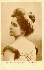 Royal Opera Singer Hermine Bosetti