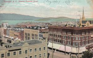 VANCOUVER , B.C. , Canada , 1907 ; Roof top view
