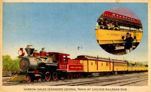 IL - Chicago. Railroad Fair, 1949. ***RPO- Chicago RR Fair