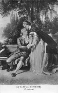 Charlotte von Lengefeld German poet Friedrich Schiller