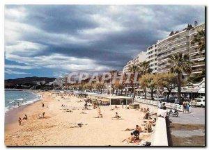 Modern Postcard Cannes Alpes Maritimes Boulevard Jean Hibert Plage du Midi