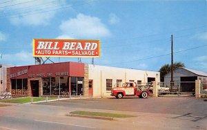 Trucks / Buses /  Vans Post Card Bill Beard Auto Parts and Salvage Tulsa, Okl...