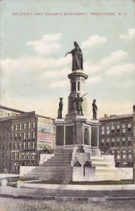 Rhode Island Providence Soldiers And Sailors Monument