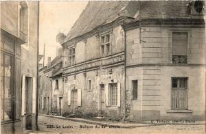 CPA Le Lude - Maison du XV siecle (390915)