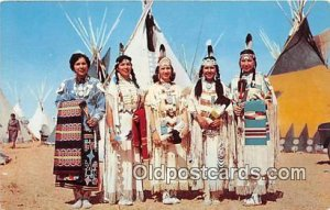 Indian Maidens Photo by Free Lance Photographers Guild, Inc Unused