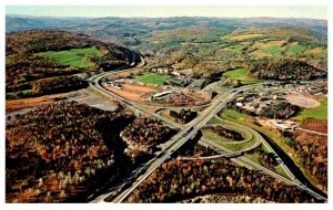 New Hampshire   White River Junction ,interstate 91 and 89