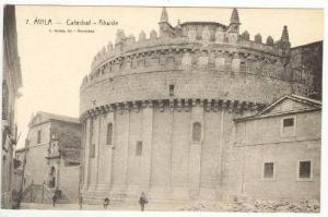 Catedral- Abside, Ávila (Castile-Leon), Spain, 1900-1910s