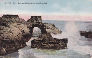 Crown Rock and Natural Arch, Santa Cruz, California, 00-10s