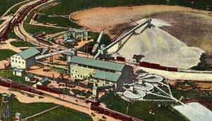 Central Mill Eagle-Picher Mining Co. Near Joplin Mo. Vtg. Standard View Postcard