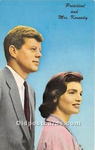 John F Kennedy Postcard President John F Kennedy Postcard