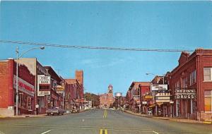 Central Falls Michigan~Superior Avenue~Aldo Theatre~Walgreens-Rexall Drug~1960s