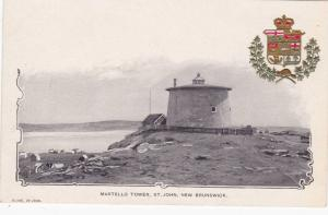 Martello Tower , St John , New Brunswick , Canada , Pre-1907