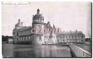 Old Postcard Chateau De Chantilly