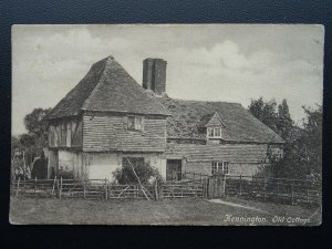 Kent Ashford KENNINGTON Old Cottage - Old Postcard by Goulden & Wind of Ashford