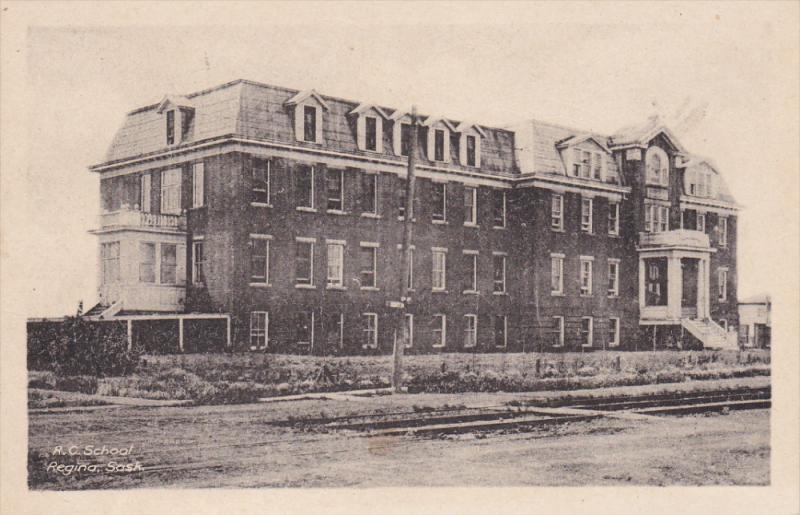 Roman Catholic School , REGINA , Saskatchewan , Canada , 10-30s