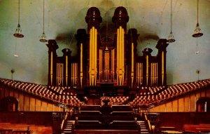 Utah Salt Lake City Temple Square Tabernacle Organ 1957