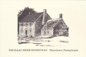 Pennsylvania Myerstown The Isaac Meier Homestead South College Street