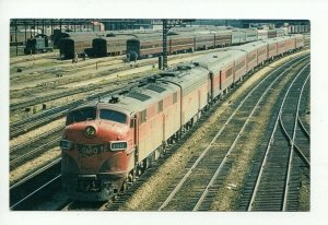 Vintage Trains Postcard PC8 #C45