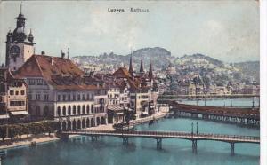 Switzerland Luzern Das Rathaus