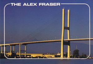 Alex Fraser Bridge British Columbia Canada
