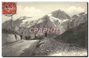 Old Postcard The Dauphine Meije View Road Chaselay