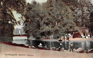 Hull, Pearson's Park, animated, small bridge Palatine Series
