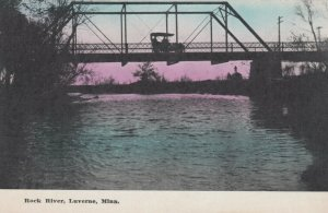 LUVERNE , Minnesota, 1900-10s , Rock River Bridge