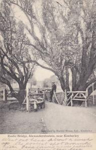 Rustic Bridge, Alexandersfontein, Near Kimberley, South Africa, 1900-1910s