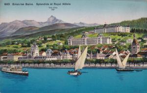 Spledide Et Royal Hotels, EVIAN-LES-BAINS (Haute Savoie), France, 1900-1910s