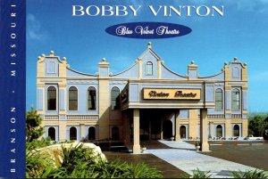 Missouri Branson Bobby Vinton Theatre Blue Velvet Theatre