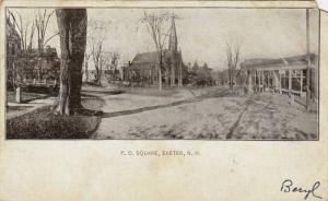P.O.Square, Exeter, New Hampshire,PU-1905