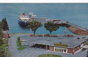 Ferry BLUENOSE , Bar Harbour , Maine, 40-50s