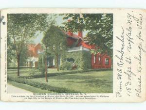 1906 House Where President Mckinley Died Buffalo New York NY Q1911
