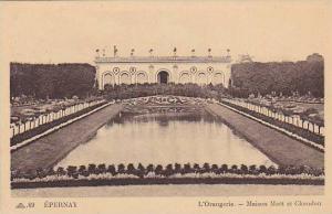 EPERNAY, L'Orangerie, Maison Moet et Chandon, Marne, France, 10-20s