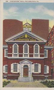 Pennsylvania Philadelphia Carpenter Hall