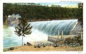 The Dam in Lake Taneycomo, Missouri